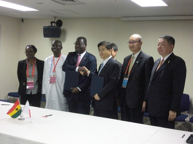Concluded MoC between governments of Japan and Ghana
